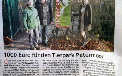 Aus der Weser Kurier vom 22.12.19.