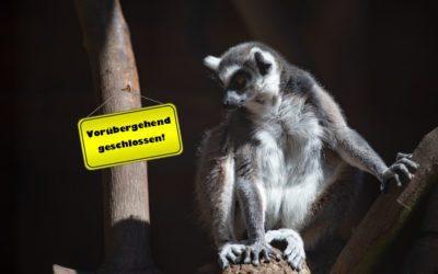 Tierpark vorübergehend geschlossen