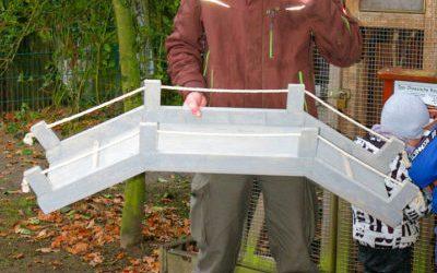 Verlosung von Kaninchenbrücken zur Spende